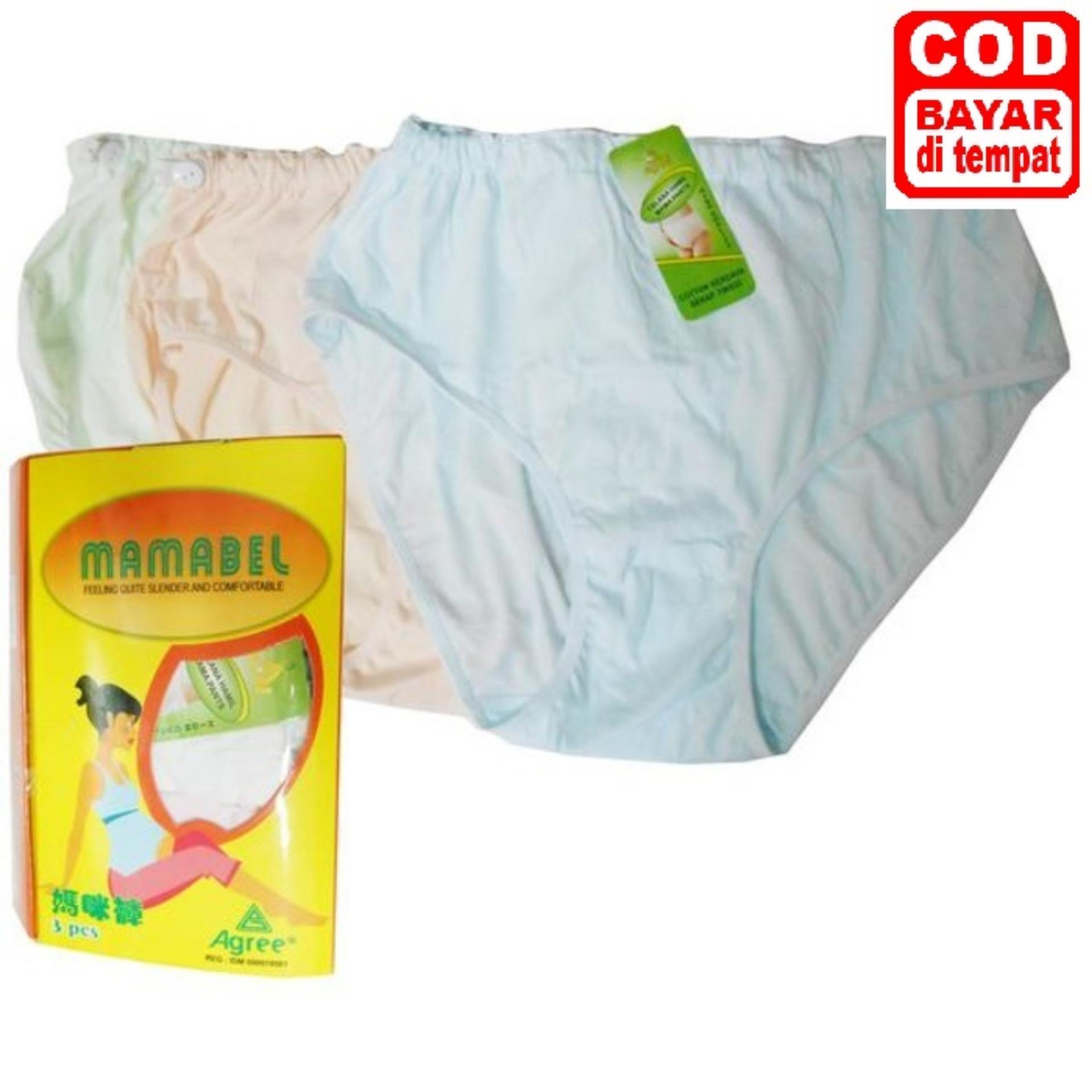 Paket 3pc - Celana Dalam Hamil Mamabel - Mamabel Maternity Panty