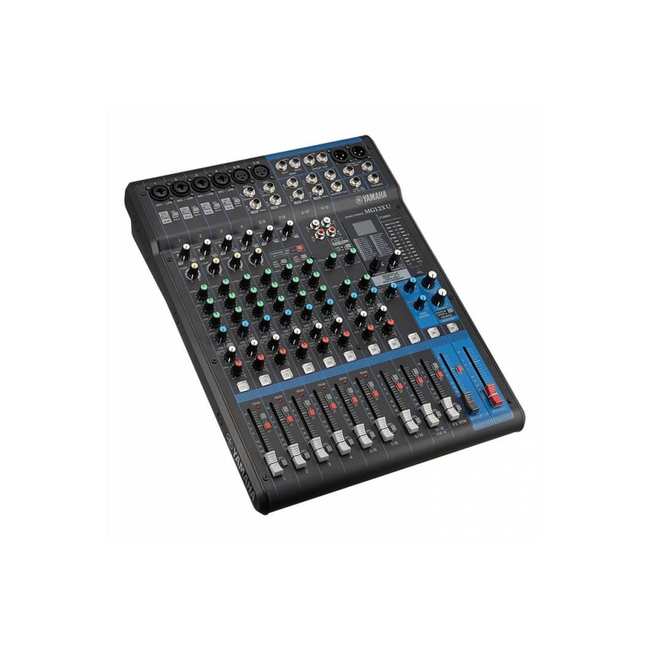 mixer audio yamaha mg12xu original garansi resmi yamaha indonesia
