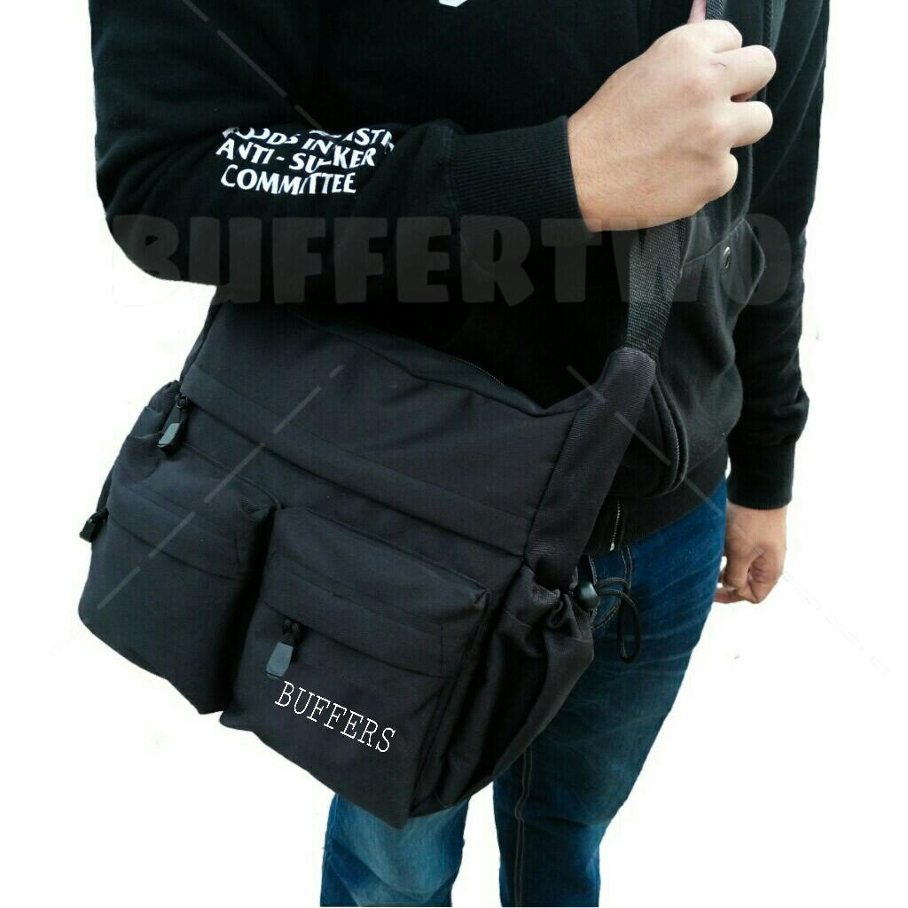 tas selempang pria slingbag buffer high Quality series  02 ,