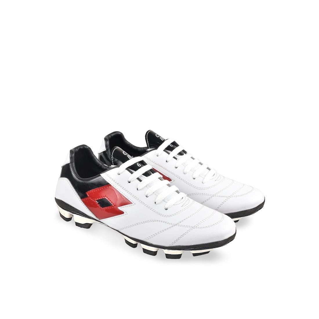 Sepatu Futsal Simple Keren Warna Putih - CBR SIX / NAC 704