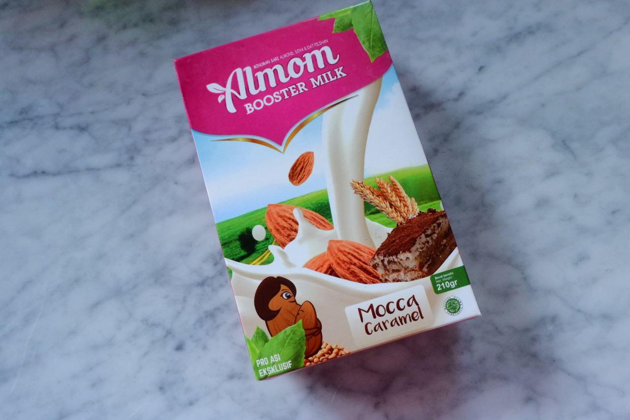 Asi Booster Rasa Mocca Caramel / pelancar asi / Susu Almond / Yummy's Almom booster Milk