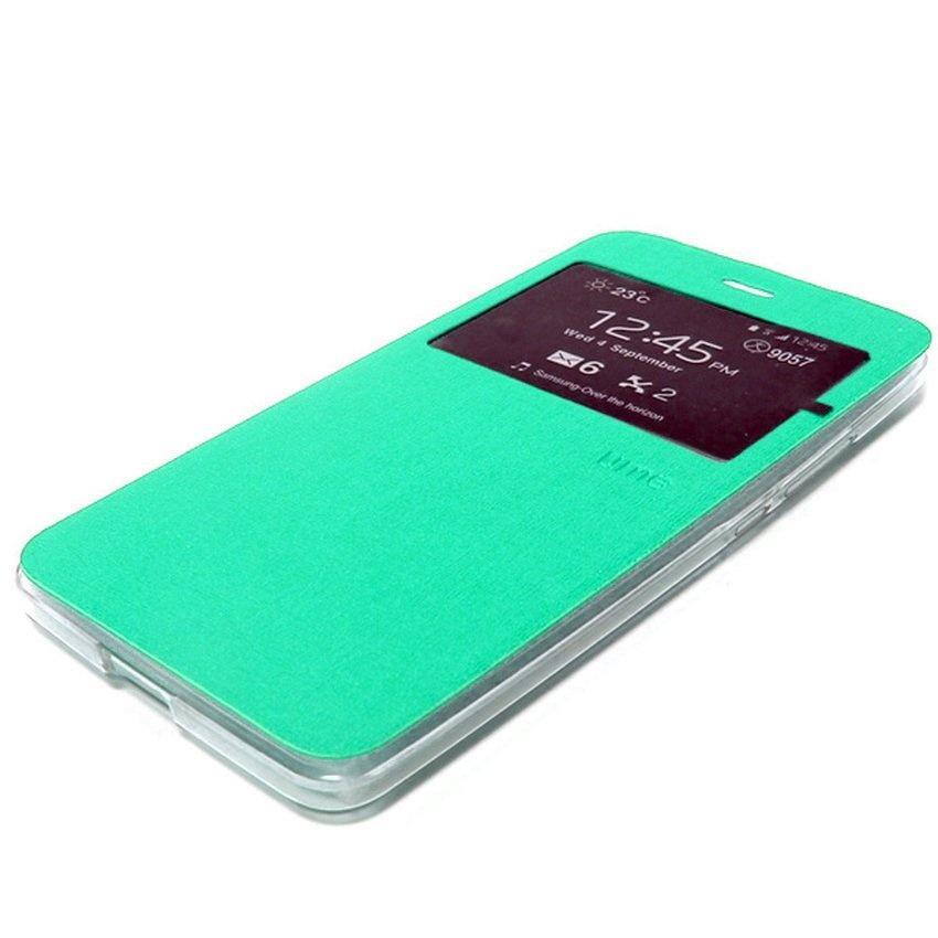 Ume sarung Flipshell for Lenovo A6600 Flipcover / Leather Case / Sarung Case / Sarung - Hijau Tosca