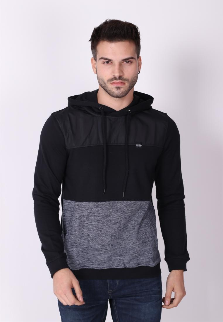 Cressida Nextlevel Sweater Cut N Sewn Pria C138 - Hitam