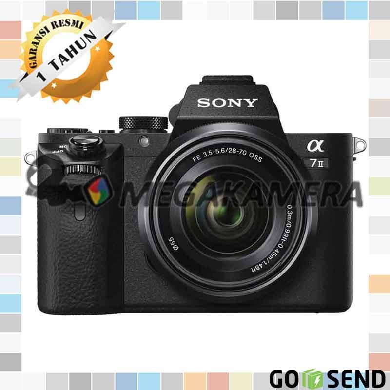Sony Alpha A7II Kit 28-70mm F3.5-5.6 Kamera Mirrorless a7 Mark II