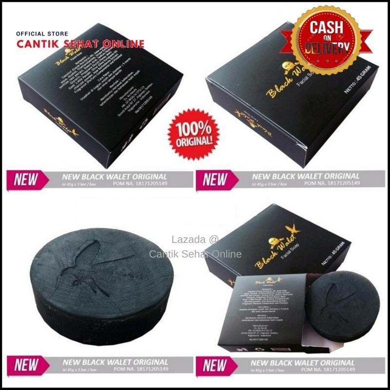 Gambar Produk Sabun Wajah Black Walet Asli Original 1 Pcs / Black Walet Facial Soap / Black Walet PD. Tora - PT. Tora / Sabun Walet Selengkapnya