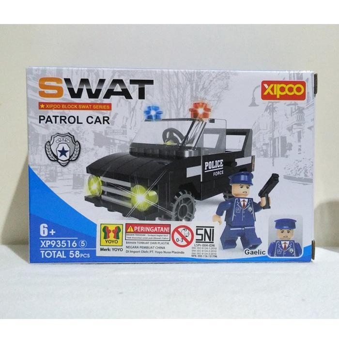 Lego SWAT Patrol Car - XIPOO