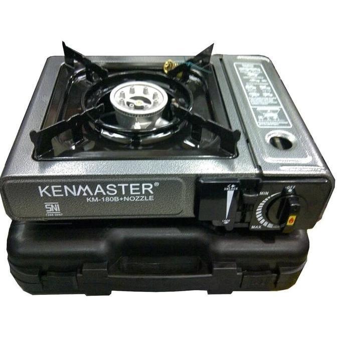Promo !! Kenmaster Km-180B Kompor Gas Portable - Stok Terbatas !!
