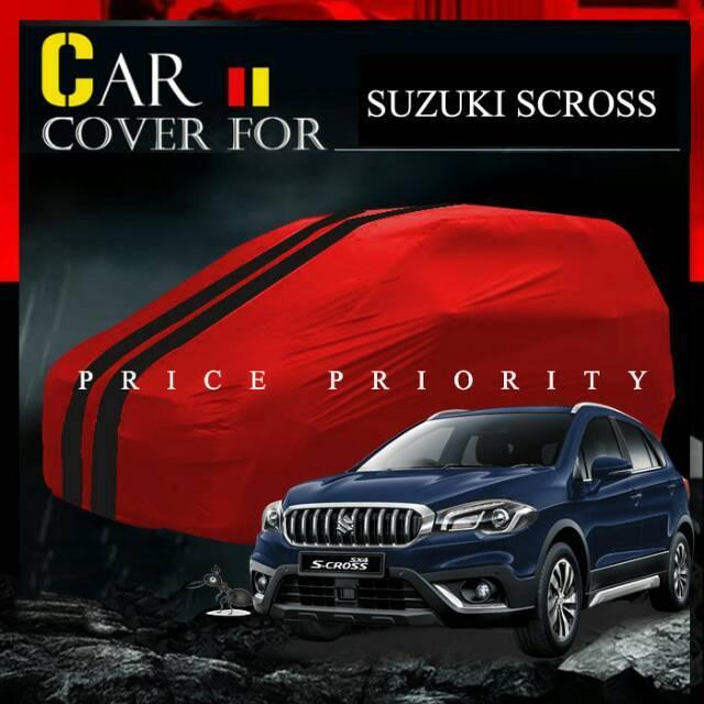 Cover Bodi Mobil Suzuki Scross Sx4 Sarung Penutup Bodi Cover Anti Air Premium Waterproof