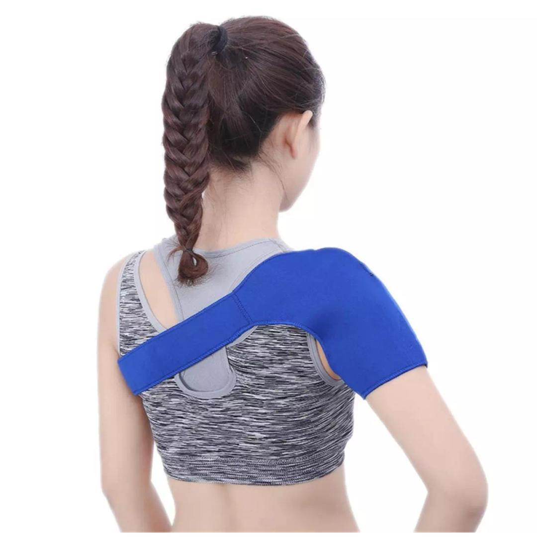 Shoulder Support Olahraga Otot Protect Brace Dislokasi Artritis Deker Bahu Cedera Bahu Support .
