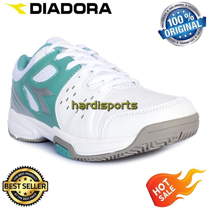 Sepatu Tenis Wanita Diadora Bagel (W) DIATE7809WTQ - White