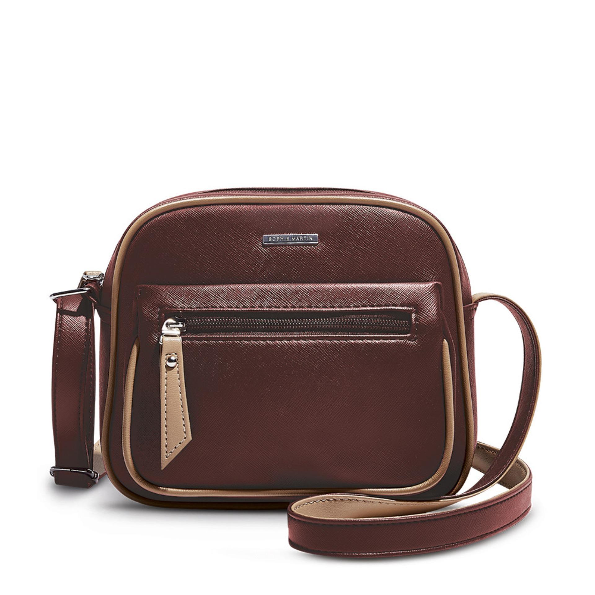 Review Sophie Paris Tas Selempang Wanita Import Branded Rosalba Bag Hana Ahphbu Cielo T4321b8 Burgundy