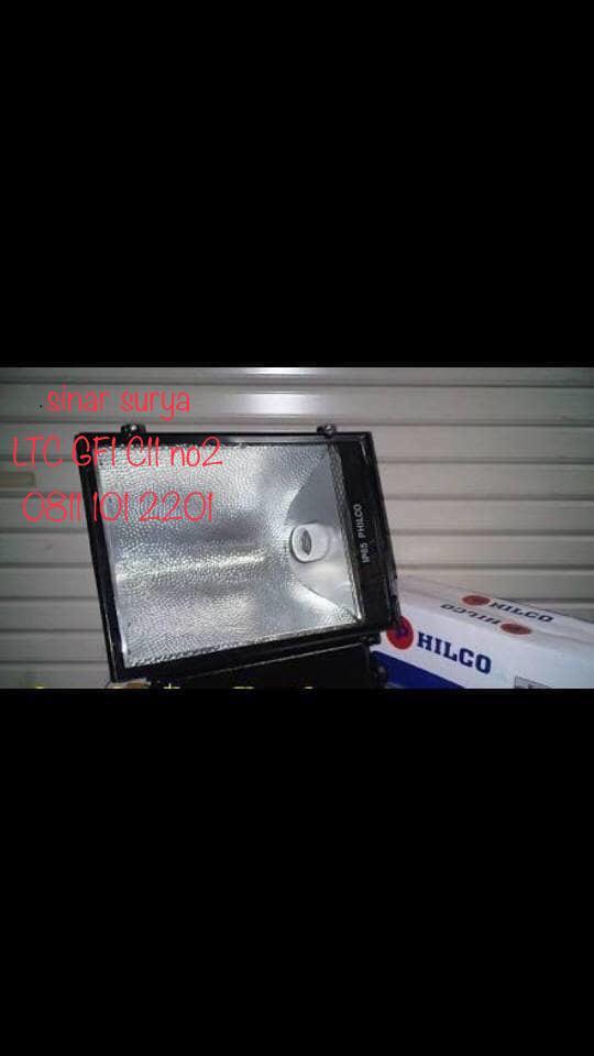 Lampu Sorot HPIT 400W Set Kap Cina Komponen Philip