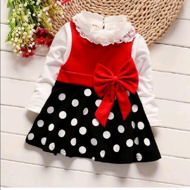 MJ Dress Anak Felicia Kids - Spandek