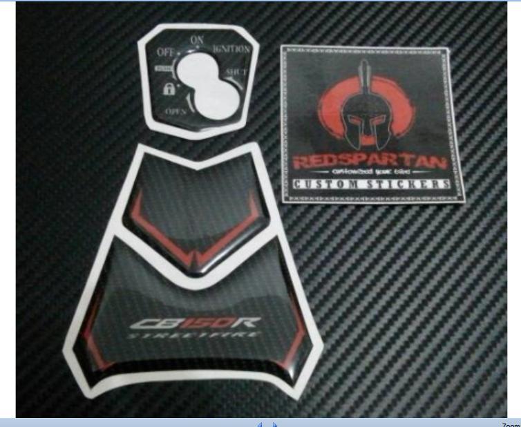 Key Panel Set All New Honda CB150R