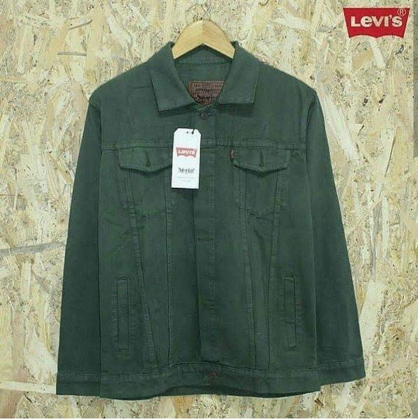 ... jaket jeans army wanita - 3 ...