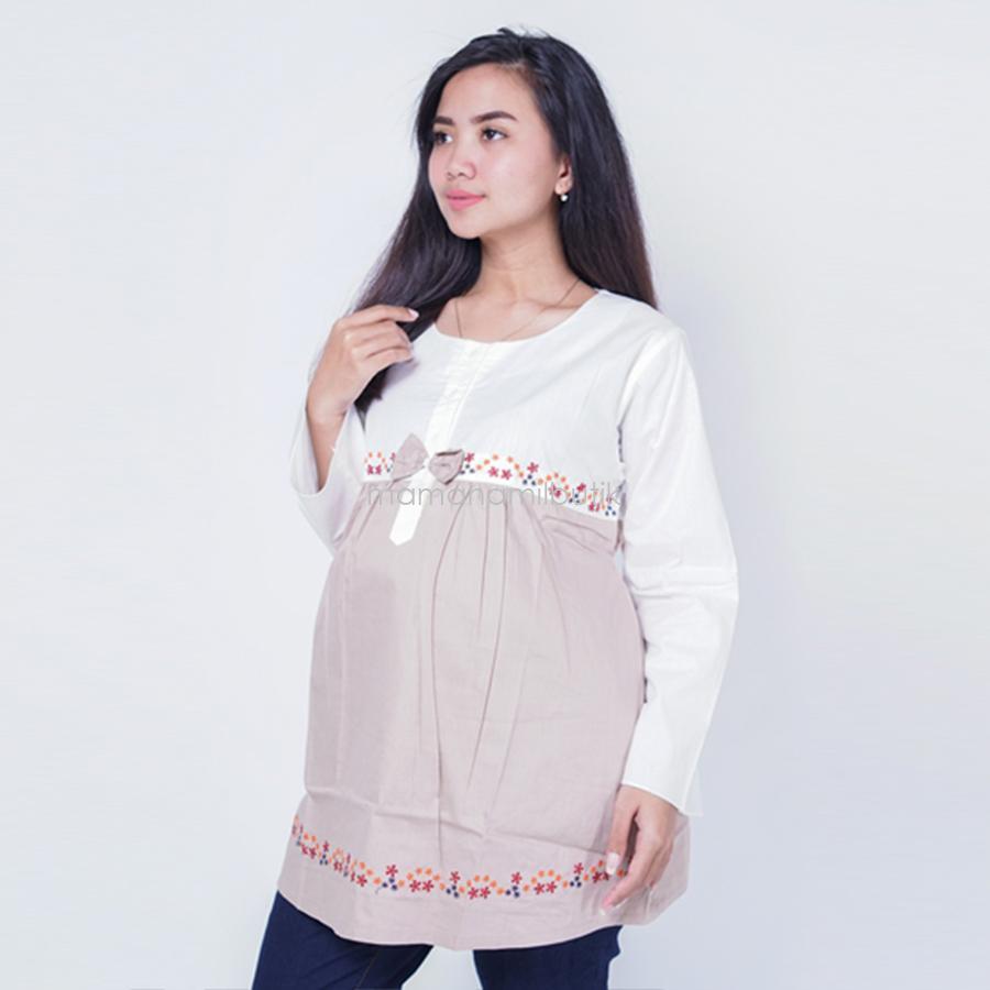 Mama Hamil Baju Hamil Muslimah Melly Blouse / Baju Hamil Untuk Kerja / Baju Hamil Muslim / Baju Hamil Seksi Baju Hamil Gamis / Baju Hamil Kerja Modis / Baju Hamil batik / Baju Hamil Menyusui