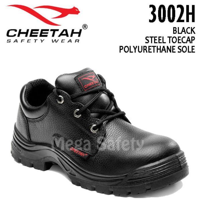 Promo Termurah Sepatu Safety Shoes Cheetah 3002H Gratis Ongkir