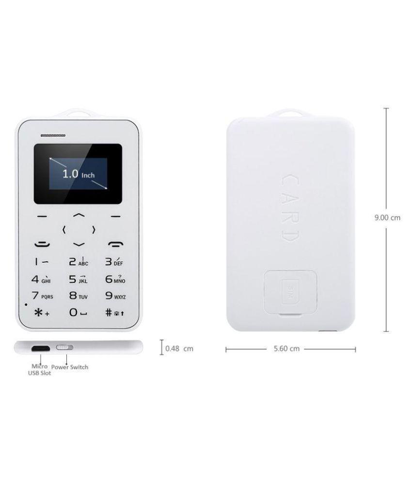 Aiek C6 Aeku C6 HP ATM Tipis Card Phone bukan Aiek M5