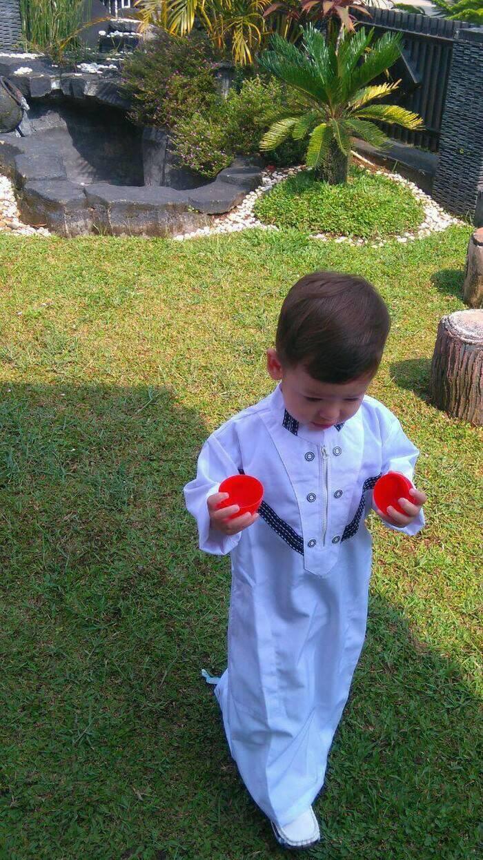 〘NeW ArriVAl〙 Baju Busana Pakaian Koko Gamis Jubah Tamsi Anak Laki Muslim