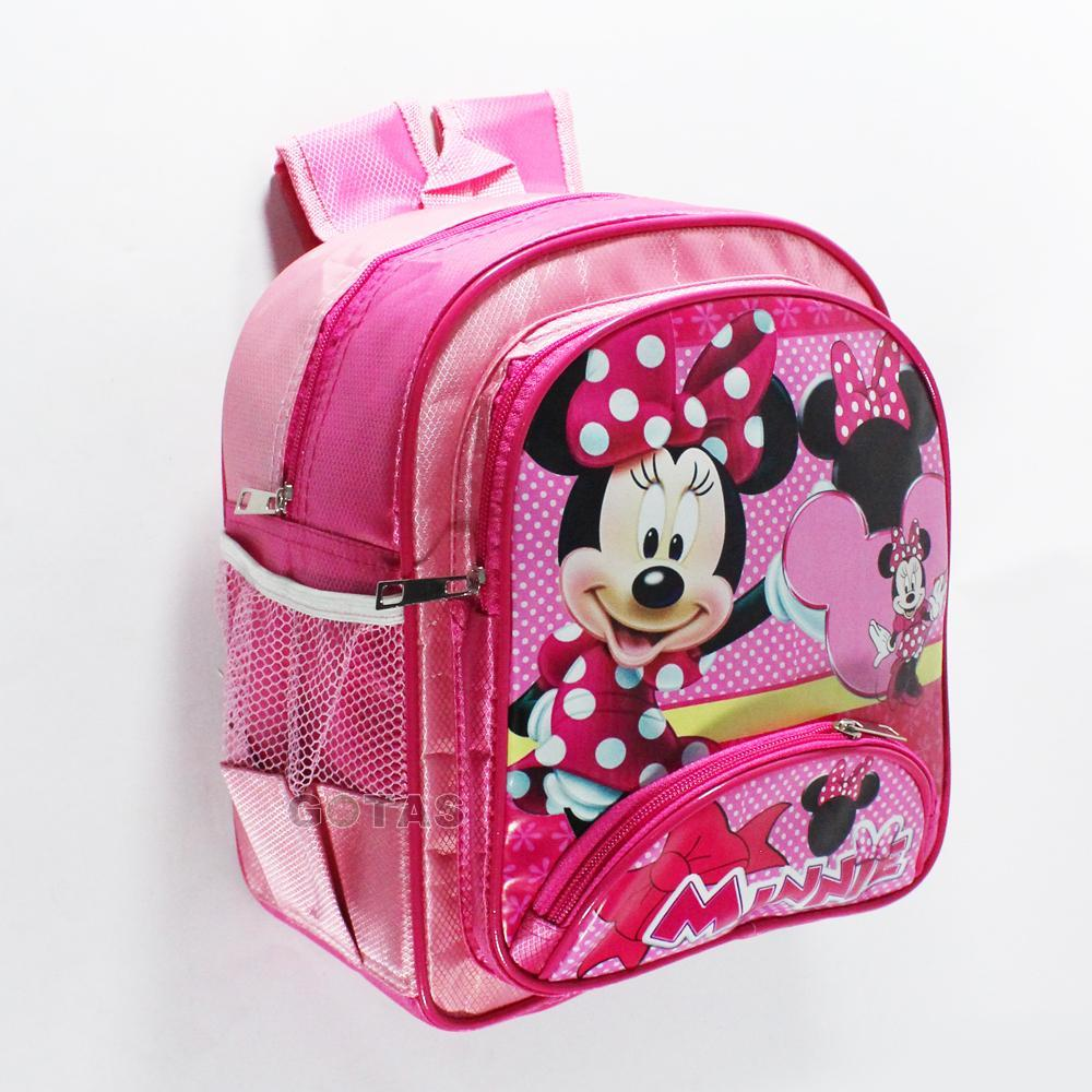 Tas Anak Sekolah Playgroup PG Karakter Minnie Pink
