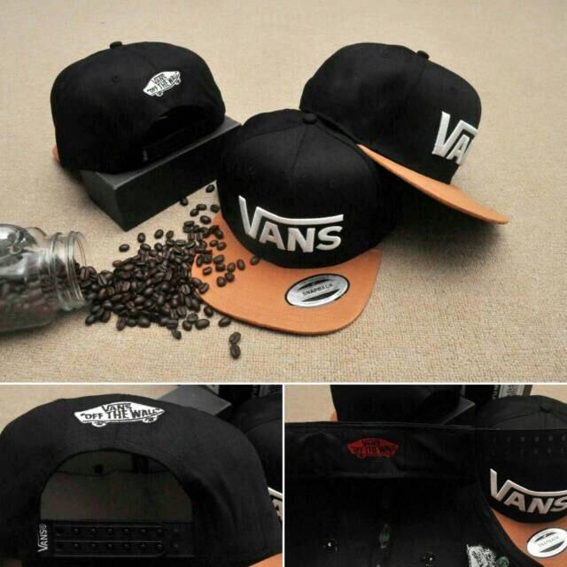 topi snapback vans/ vans cap.original import/ hat