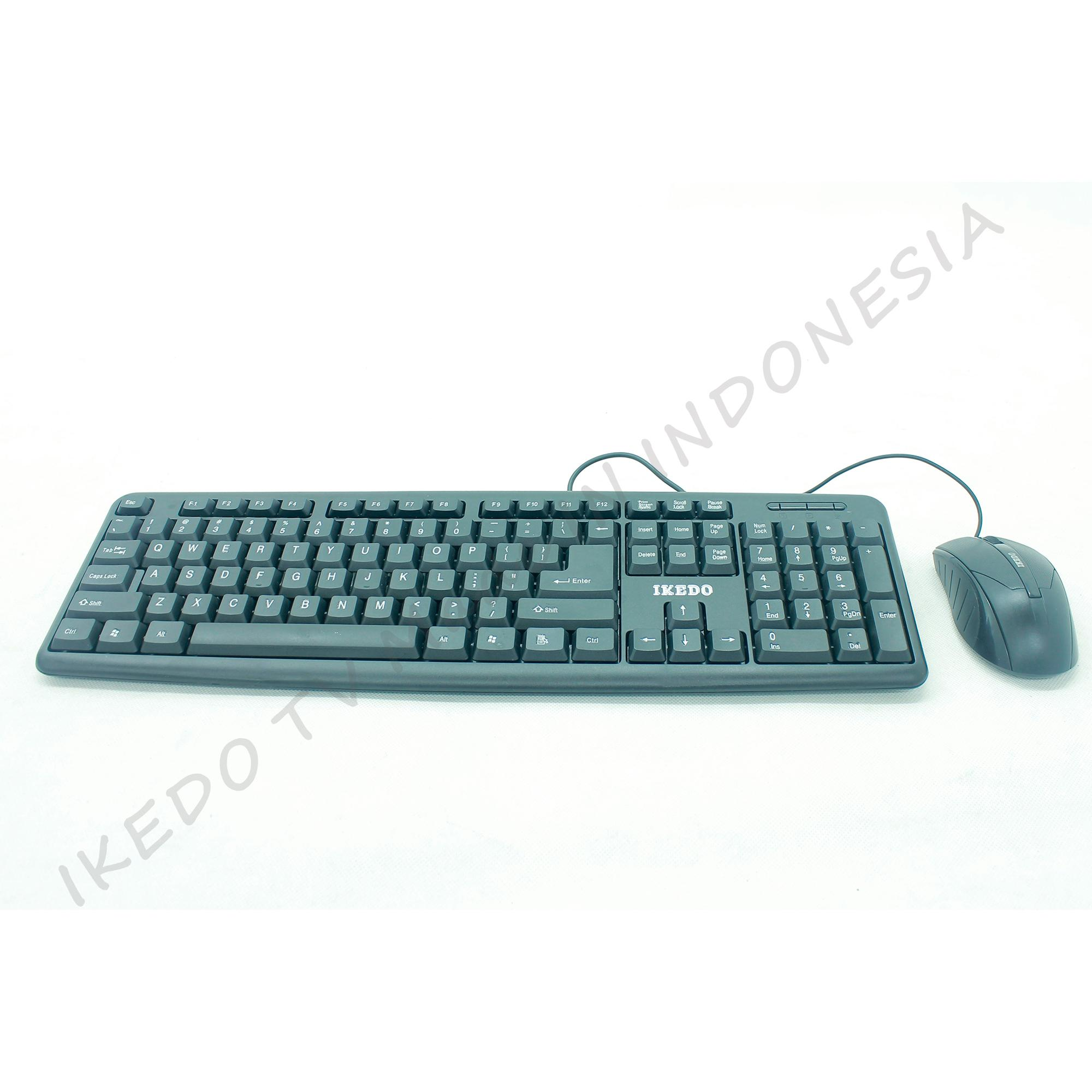 KEYBOARD & MOUSE USB  IKEDO KP-685 MURAH TERBARU