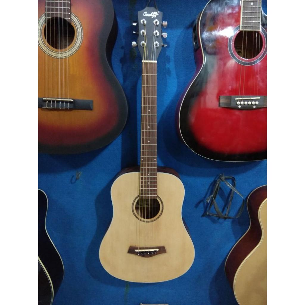 Gitar Akustik Cowboy Ukuran 3 Per 4 Original Murah Jakarta