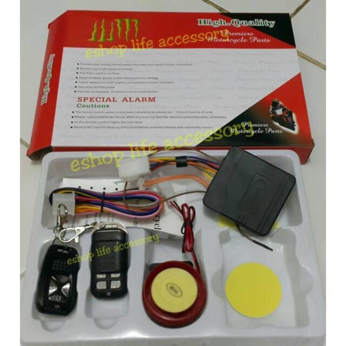 Kunci pengaman gembok alarm motor  WM seperti BHT - cFDIzI