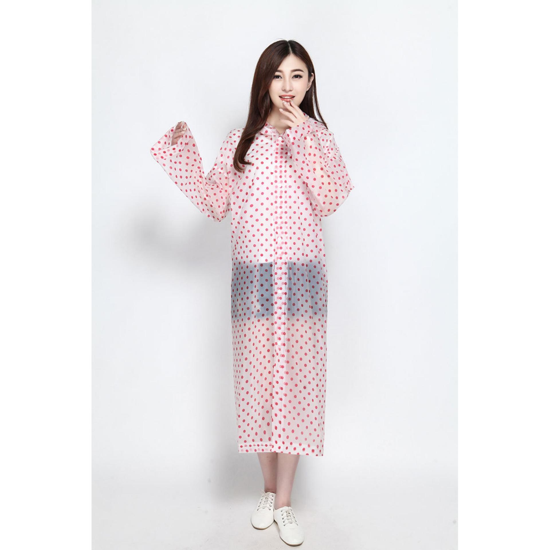 List Harga Jas Ponco 2018 Produk Laris Indonesia Hujan Tangan Lengan Original Df Rain Korea Polkadot Raincoat Poncho Murah