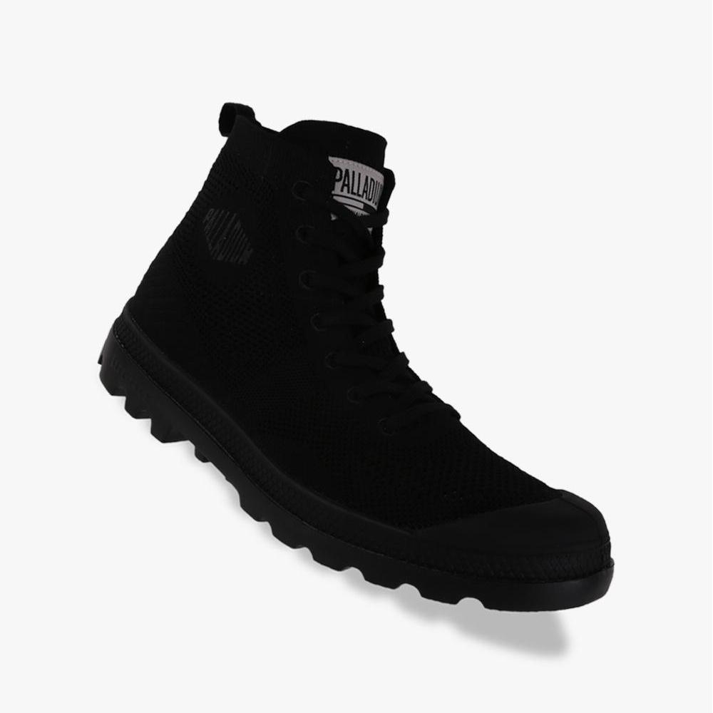 Palladium Pampa Hi Lite K Unisex Boots Shoes - Hitam