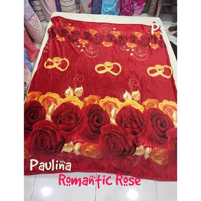 SELIMUT BULU BONITA - PAULINA ROMANTIC ROSE - SALE PROMO!!