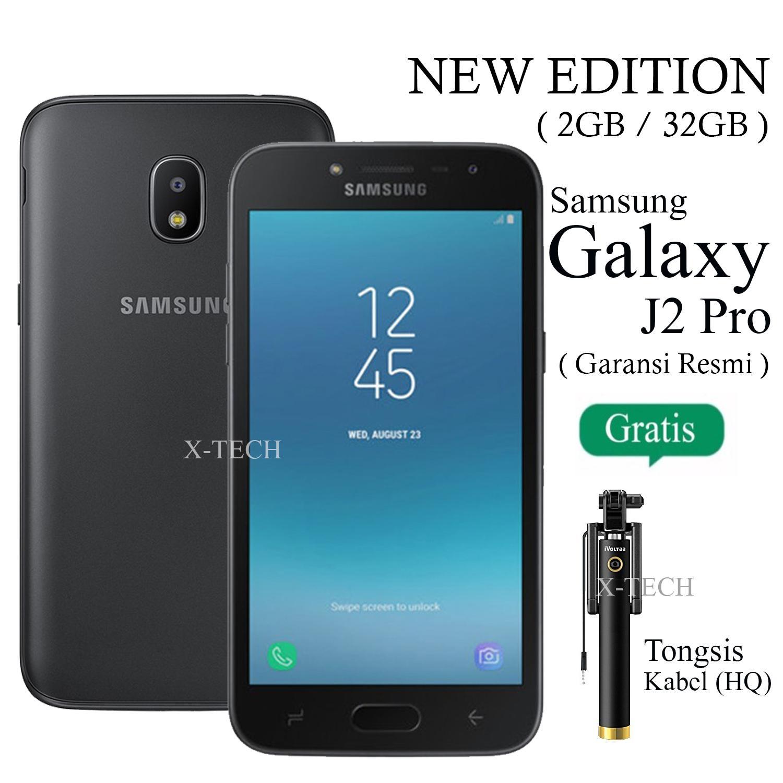 Samsung Galaxy J2 Pro - Ram 2GB - Rom 32GB - Garansi Resmi