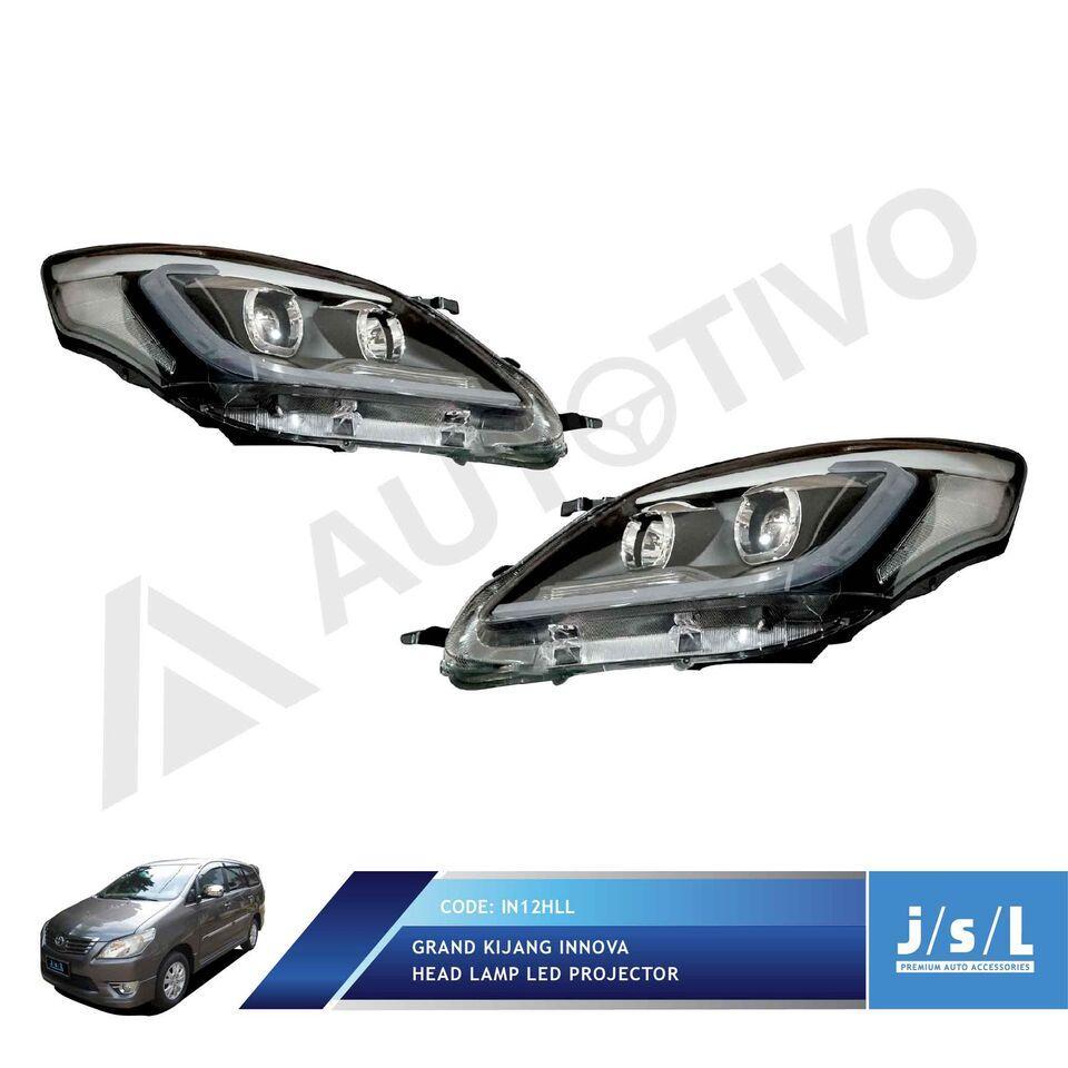 Head Lamp LED Grand Kijang Innova LED Bar