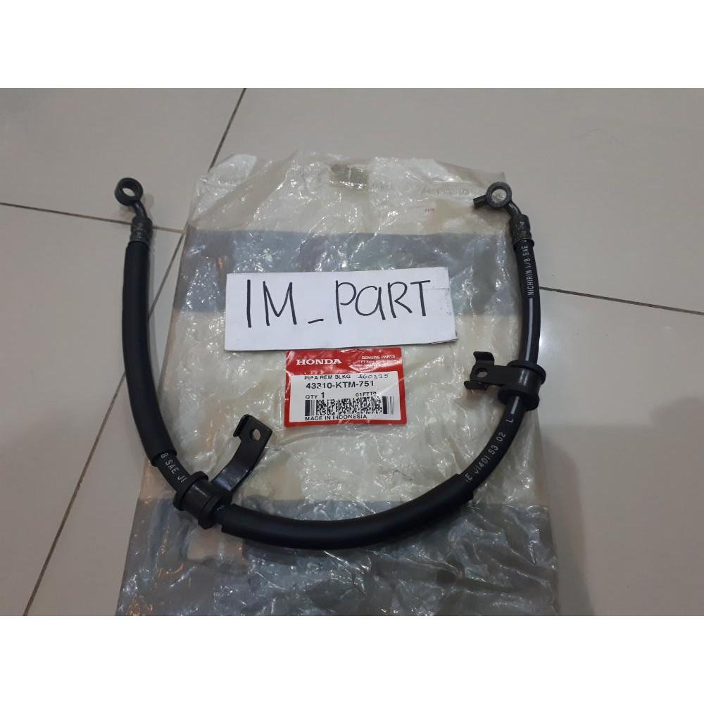 Selang Minyak Rem Cakram Belakang Supra X 125 Lama 43310-KTM-751