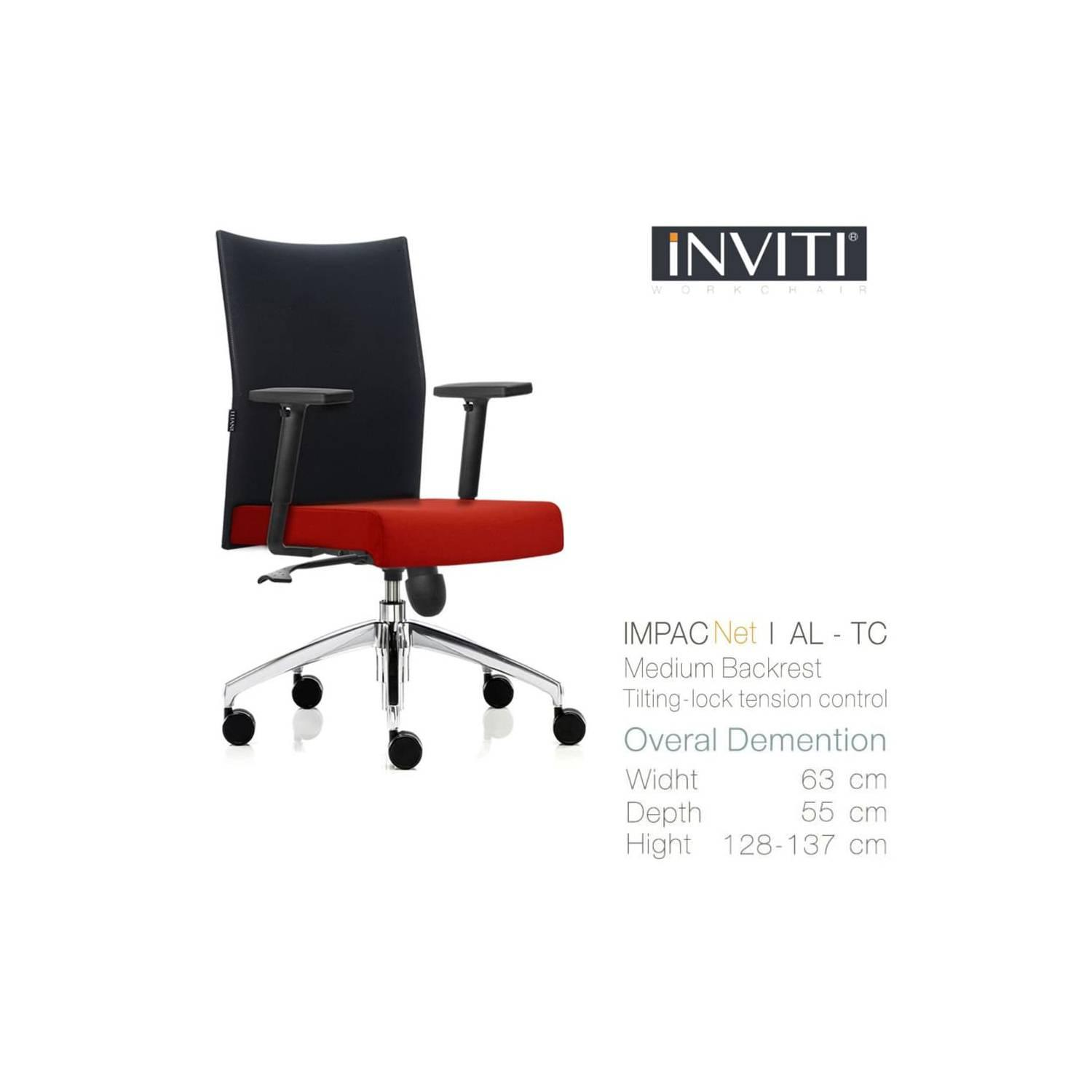 IMPAC NET I AL-AT Kursi Kantor (Office Chair) INVITI