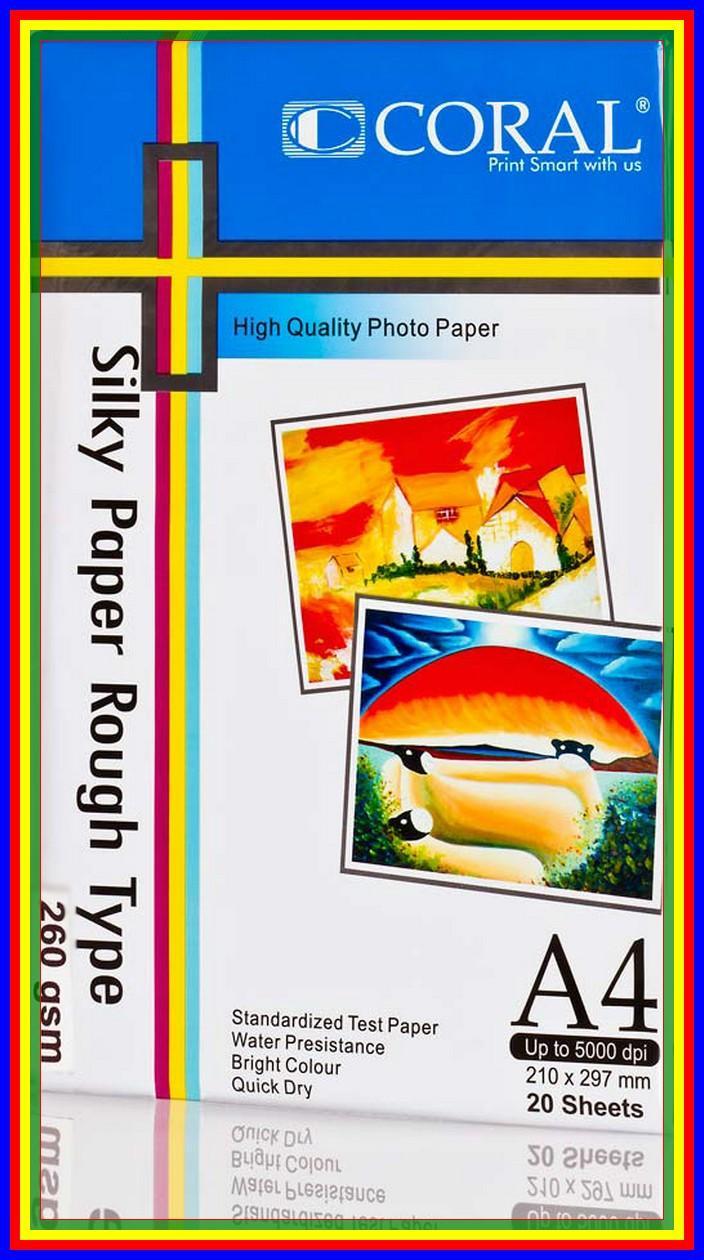 Cek Harga Baru Kertas Foto Kulit Jeruk E Print Silky Gold Photo Double Side Matte A3 220 Gsm Coral A4260 Gr Pack 20 Sheet