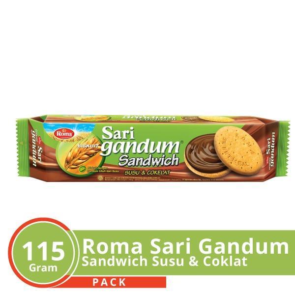 Sari Gandum Sandwich Coklat