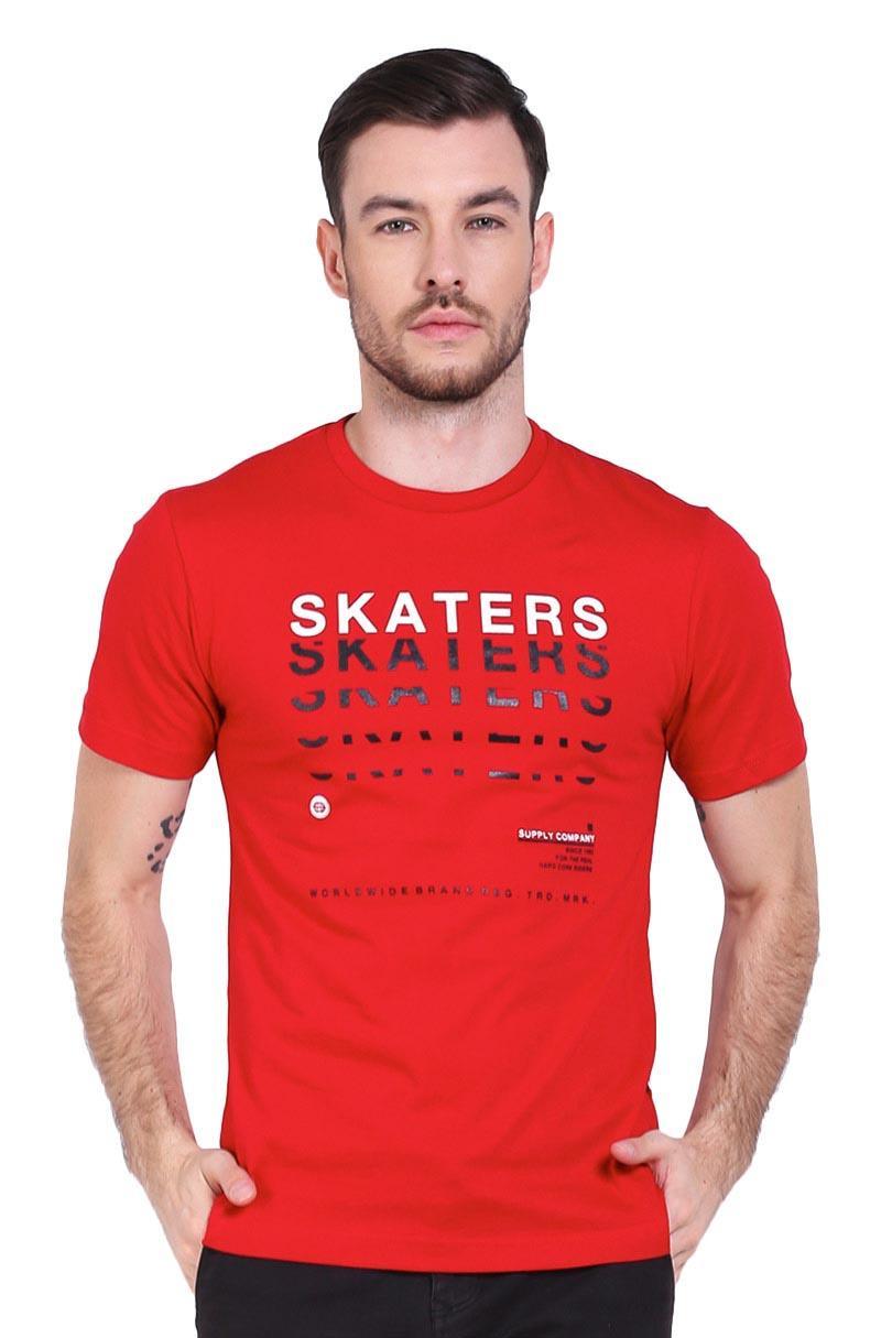 Skaters T-Shirt Kaos Pria TSH OB MLXL-0626 RED