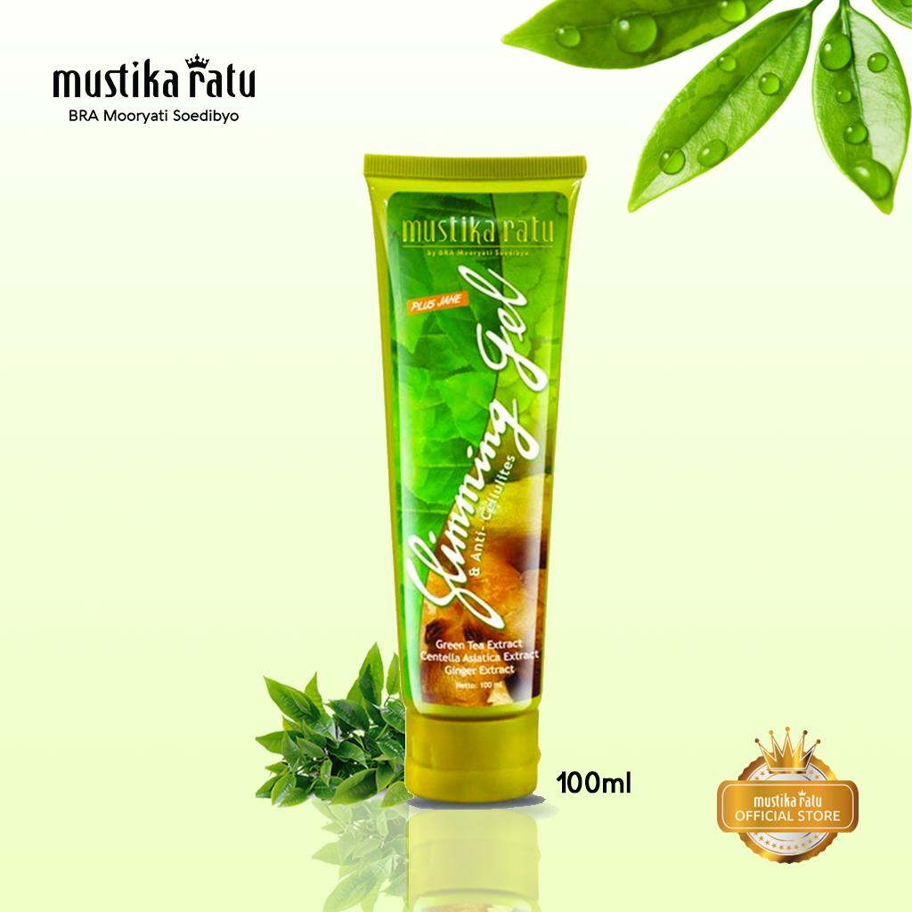 Mustika Ratu Slimming Gel Jahe Diet Pelangsing anti selulit 100ml