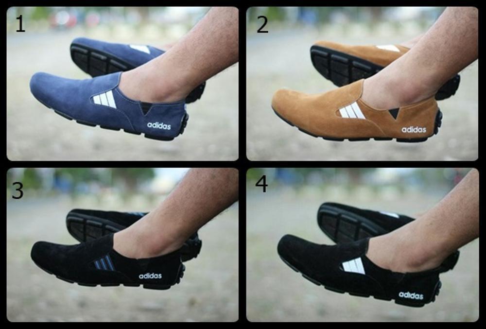 Promo Sepatu Pria Adidas suarez Slop Suede Casual Sneakers Termurah Trendy Fashion