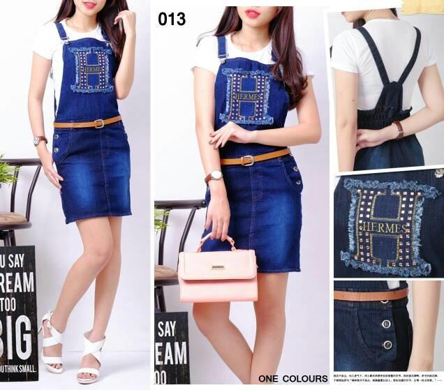 Overall jeans skirt hermes dress rok span sexy jumpsuit with inner