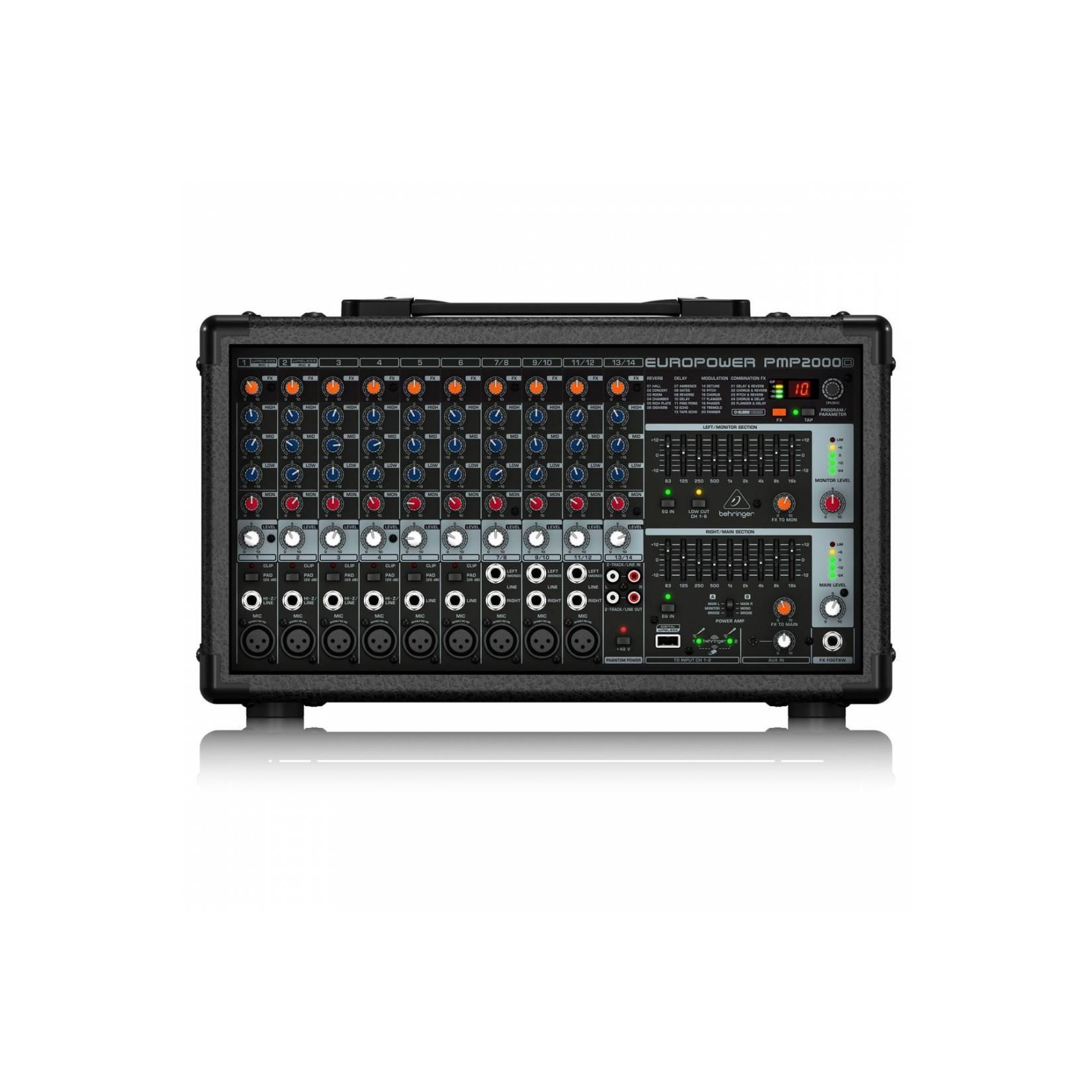 Behringer PMP2000 D Power Mixer PMP 2000D promo murah original garansi