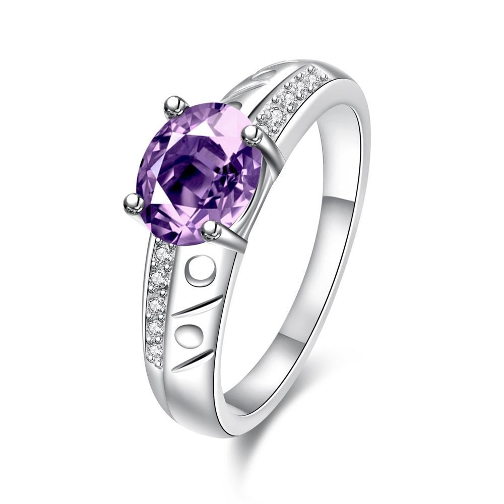 Bella & Co. Ring SPR057-C-7 Aksesoris Perhiasan Cincin Lapis Silver