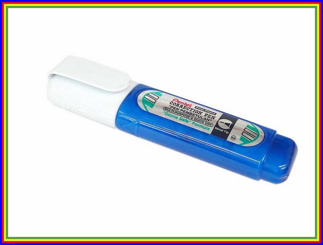 Tip Ex Cair Correction Pen Pentel Zl31W