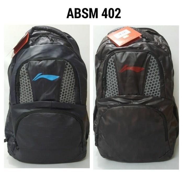 Original Lining ABSM 402 ABSM402 Tas Ransel Backpack Badminton - uMHTU2