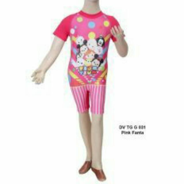 Baju Renang Anak diving Perempuan Edora 6thn sd 10thn