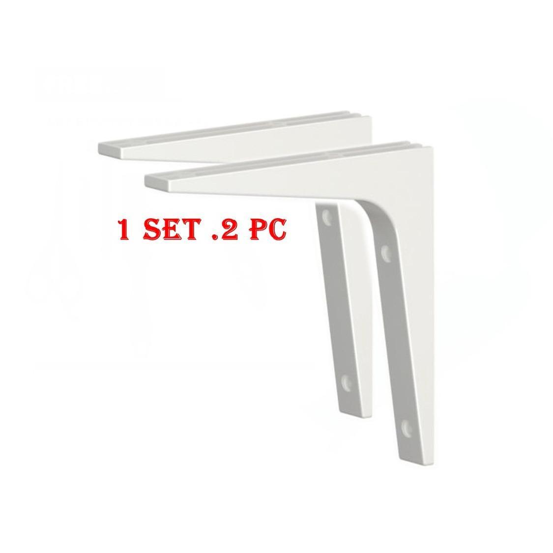 Ikea EKBY STODIS Braket Siku 2 Pcs - Braket Minimalis Serbaguna dan Multifungsi