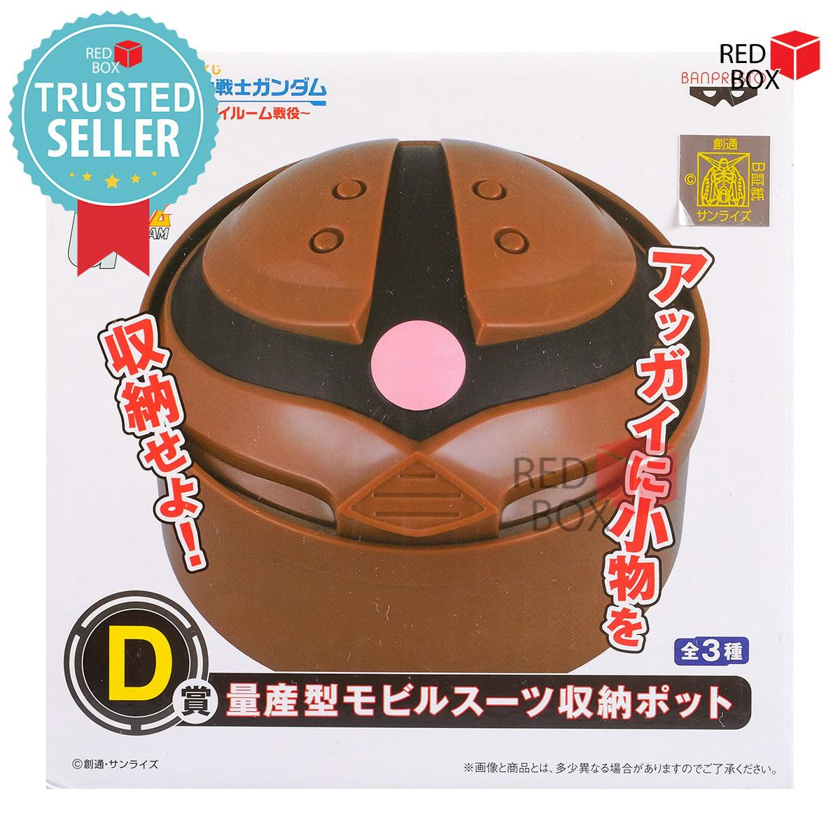 Termurah Mainan Koleksi Banpresto Acguy Storage Pot - Ichiban Kuji Gundam My Room Campaign Anime Cartoon