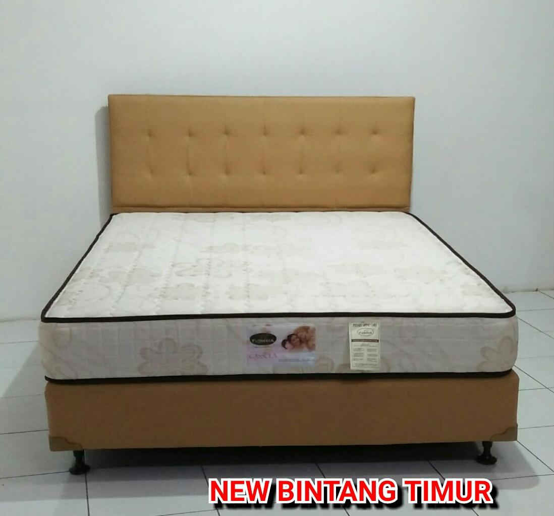 Spring Bed Floresta Cassola 180 x 200 Mattress Only Free 2 Bantal