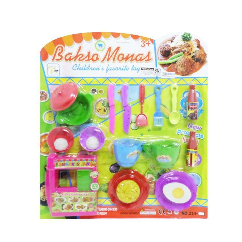 Mainan Masak-masakan Bakso Monas
